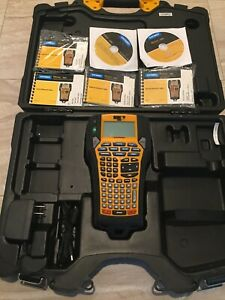 Dymo Rhino 6000 Industrial Professional Label Maker With Accessories And Case