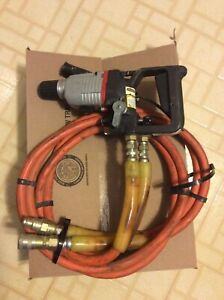 Stanley Hd08 Hydraulic Hammer Drill With Hoses And Couplers