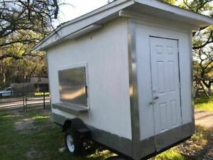 8 X 14 Food Concession Trailer For Sale In Texas