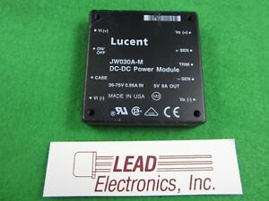 Jw030a m Tyco Converter Dc dc 5v 30w Out Lucent Brand New