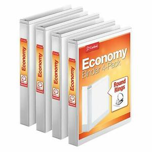 Cardinal Economy 1 Round ring Presentation View Binders 3 ring Binder Holds 2