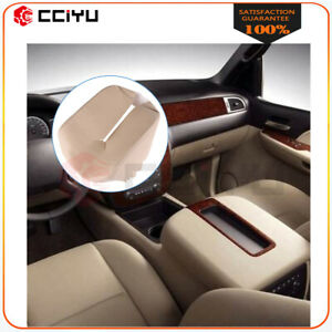 Beige Leather Armrest Center Console Lid Cover For Chevy Tahoe Suburban