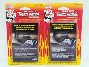 Versachem Tiger Patch Lot Of 2 Muffler Tailpipe Instant Repair Adhesives New