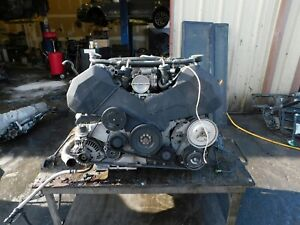 Audi C5 Rs6 4 2 Oem Complete Long Block Engine Excellent Compression No Turbos