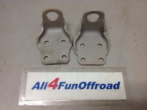 1966 1977 Early Classic Ford Bronco Steering Shock Stabilizer Brackets Pair