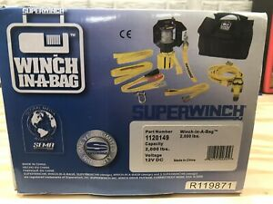 Super Winch in a bag 12v Dc Portable Off Road Winch