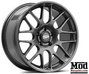 Flow Forged 18 X 8 5 32 Offset Powder Coated Gunmetal Wheels