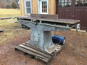 Antique Oliver Industrial Jointer Machine Baldor 10hp 3 Phase Industrial Motor