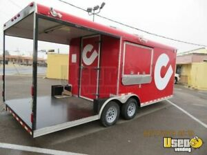 2010 8 5 X 20 Food Concession Trailer With Porch For Sale In New Mexico