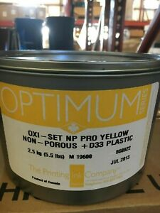 The Printing Ink Offset Oxi set Yellow 5 5lb Can