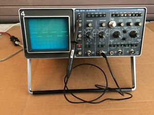 Philips Pm 3218 Dual Channel 35 Mhz Analog Oscilloscope Cathode Ray Vintage