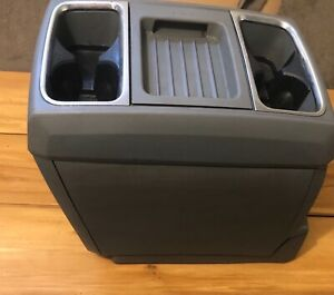 Dodge Grand Caravan Town And Country 08 15 Center Console Removable Grey Oem