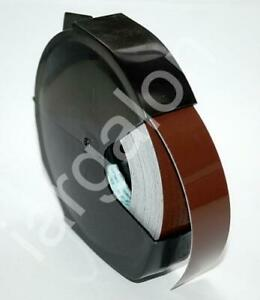 Dymo Embossing Tape Magazine Glossy Brown 3 4 2300 Old Style M75 New