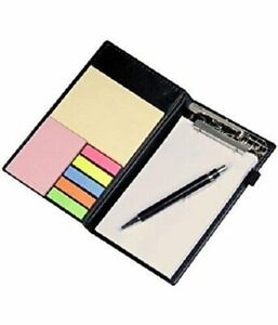 Memo Note Pad Memo Note Book With Sticky Notes Clip Holder Diary Style