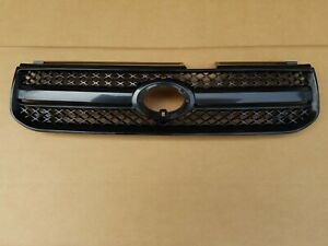 Fits 2004 2005 Toyota Rav4 Front Bumper Radiator Grille Upper Textured Black New