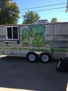 7 5 X 16 Food Concession Trailer For Sale In Illinois