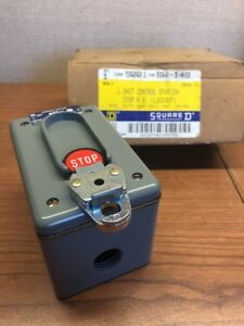 Square D 9001 Bw 148 Lockout Stop Switch