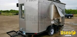2015 8 X 16 Food Concession Trailer For Sale In Texas