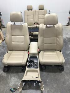 2011 2017 Dodge Durango Tan Leather Seats Front Rear Center Console Heated