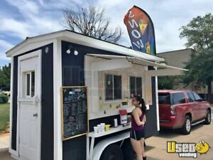 Shaved Ice Concession Trailer For Sale In Texas