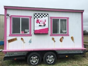 Fully Self contained 6 X 14 Food Concession Trailer very Cute Mobile Food Unit