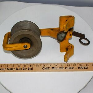 General Machine Products Aerial Copper Fiber Cable Block Roller Catv Ships Today