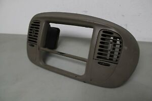 1997 2003 Ford Expedition Or F150 Radio Bezel Tan Oem