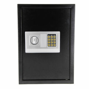 Large Digital Electronic Keypad Lock Depository Safe Box Security High Quality