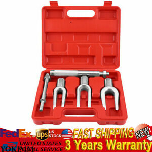 5pcs Tie Ball Joint Rod Separator Pitman Arm Remover Tool Kit Pickle Fork Set