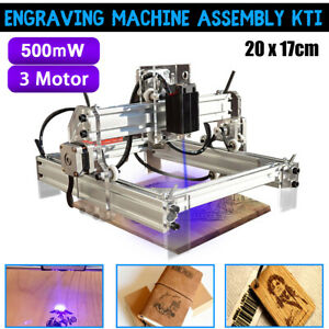 500mw Desktop Laser Engraver Engraving Machine Logo Mark Carver Printer Cutter