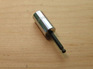 Snap On 1 8 Ball Hex Allen Tip Socket Driver 1 4 Drive Tmas4 Free Shipping