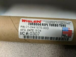 Whelen Turbo 64 Replacement Tube 6 Snap In Light 01 0441675 00d