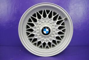 89 95 Bmw 525i 535i 15 Rim 15x7 Alloy Wheel Diamond Design Bbs Cap 1179774