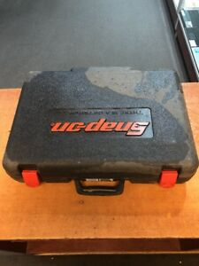 Snap On Tools Case For Ct4410a 14 4 Volt Cordless Impact Wrench Charger