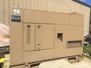 Military Diesel Generator Mep 805b 30kw For Home Or Business Back Up Power