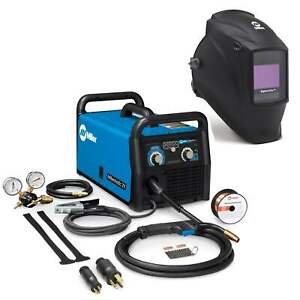 Miller Millermatic 211 Mig Welder And Elite Helmet Bundle 907614 281000