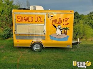 8 X 12 Turnkey Shaved Ice Concession Trailer For Sale In Tennessee