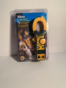Ideal 61 744 Clamp pro Clamp Meter 600 Aac Clamp Meter Brand New In The Box