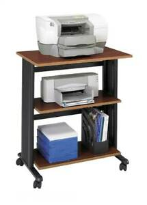 Muv Mobile Printer Stand In Cherry And Black Finish id 36991