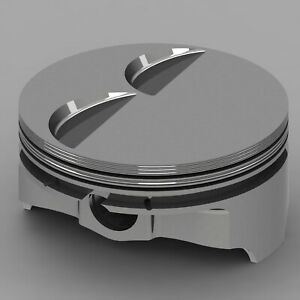 Icon Forged Piston Set Fits Chevy Ls1 402 Rod 6 125 Flat Top 3cc 2v