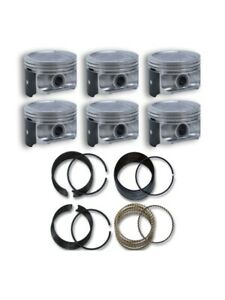 Jeep 4 0 242 87 95 Engine Piston Ring Set Cast