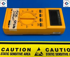 Fluke 27 Digital Multimeter used With Faded Screen