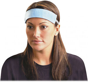 Occunomix Occsb100 Hard Hat Sweatband 100 Pack Blue