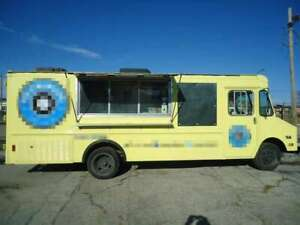 Chevrolet P30 Step Van Kitchen Food Truck Used Mobile Kitchen Unit For Sale In