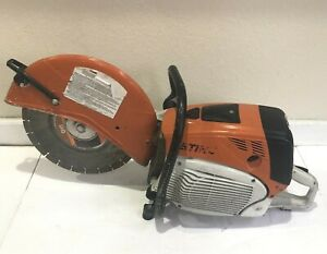 Stihl Ts 800 Concrete Gas Powered Cut Off Saw 16 With Blade