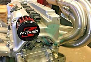K Tuned K Series Valve Cover Breather Air Filter Fits K20 And K24 Ktd Vc Vent