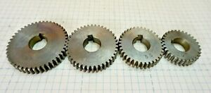 Stack Of Lathe Change Gears 30 35 40 45 0 65 Bore