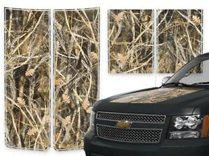 Chevy Avalanche Truck Racing Stripes Hood Tailgate Decal Grass Camo 2000 2006