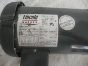 Lincoln Electric Motor Inverter Rated 1 Hp