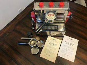 Vintage Quick Mill Omre Espresso Machine Made In Italy 1965